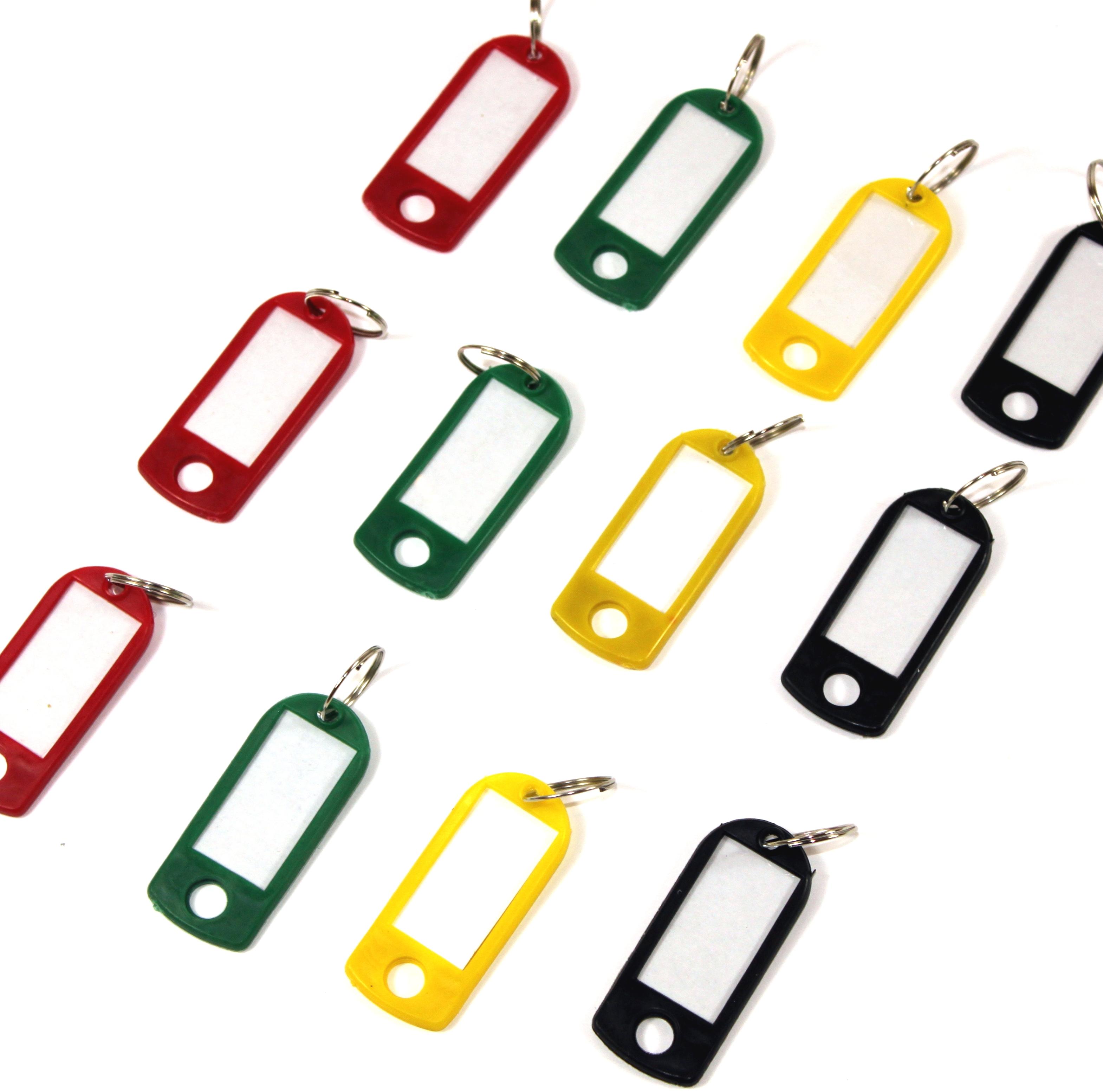 zum-Beschriften Bunt Schlüsselschilder Schlüsselanhänger