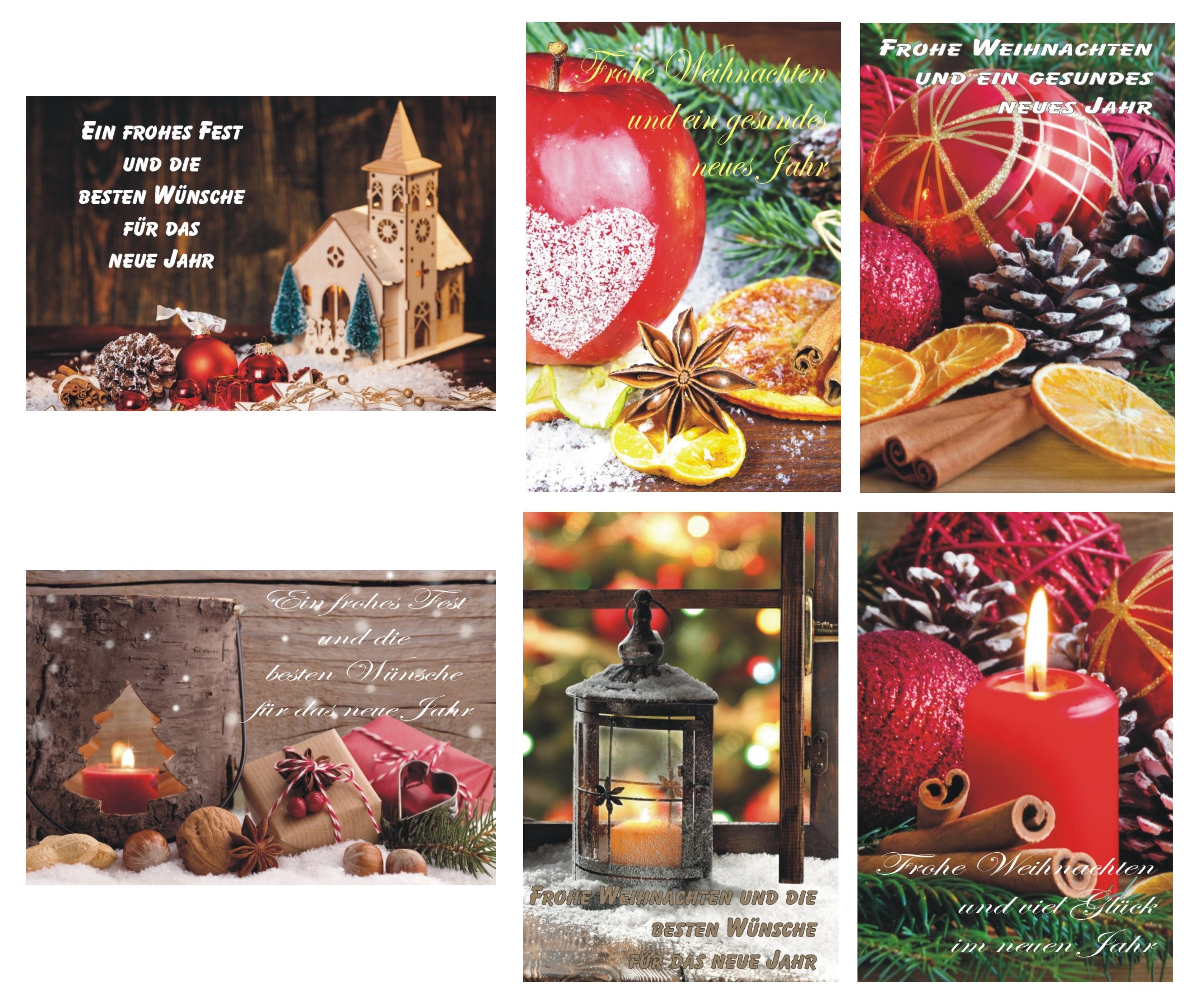 Weihnachtskarten Für Fotos.K B Haushaltswaren Weihnachtskarten Weihnachtskarte